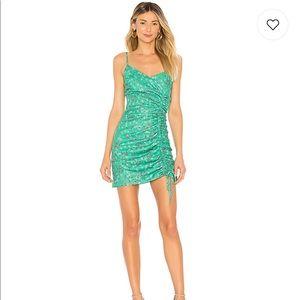 Lovers & Friends - Green Alice mini dress
